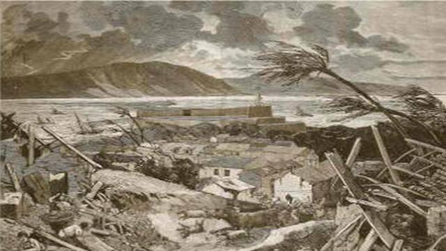 Le cyclone du 18 août 1891.
